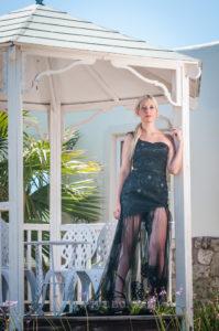 Julie_wearing_Black_evening_gown