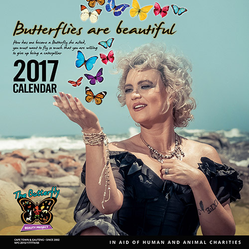 Miss Butterfly Calendar